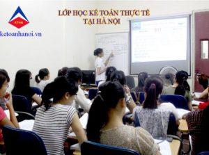 Trung tâm đào tạo kế toán thực tế tại Hà Nội