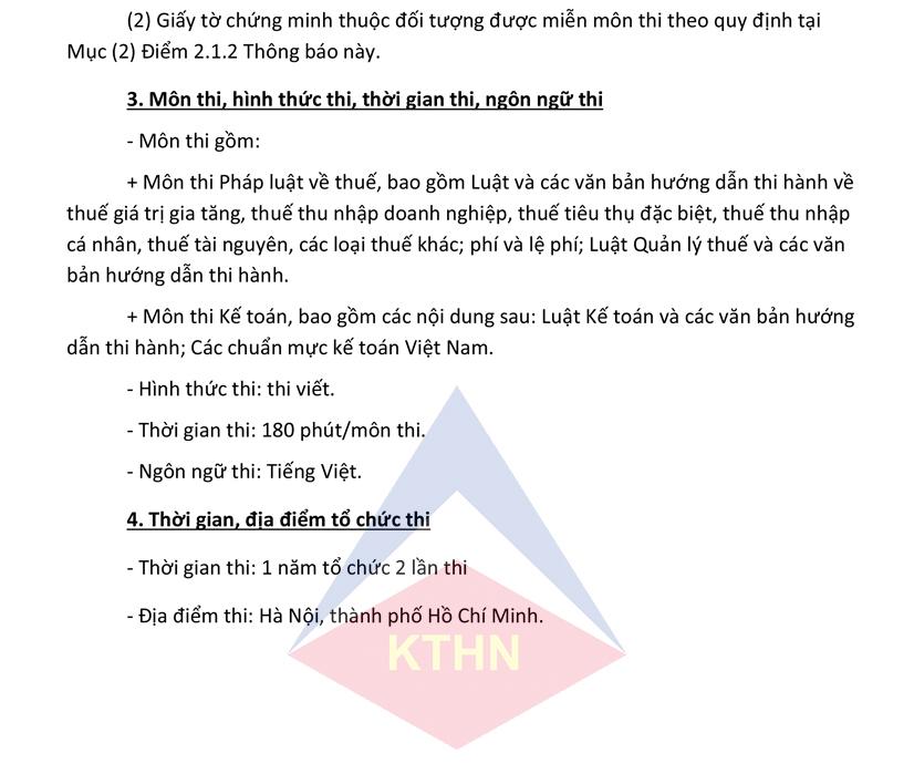 Khoa hoc on thi chung chi dai ly thue 51