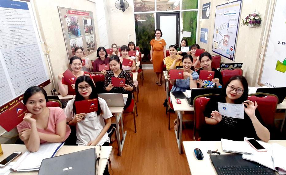 Lớp học kế toán tổng hợp tại Vạn An Bắc Ninh