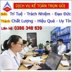 Dịch vụ khai báo thuế tại Hà Nội