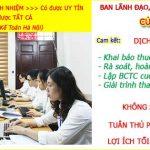 Dịch vụ kế toán tại Bắc Ninh