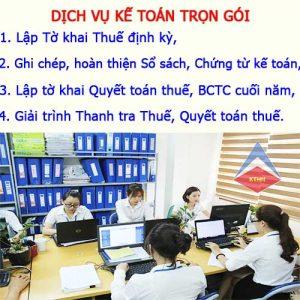 Dịch vụ làm sổ sách kế toán tại Hà Nội