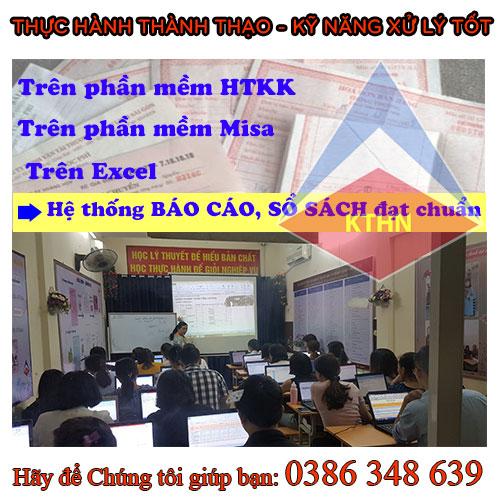 Trung tâm đào tạo kế toán tổng hợp tại Thanh Xuân TỐT nhất