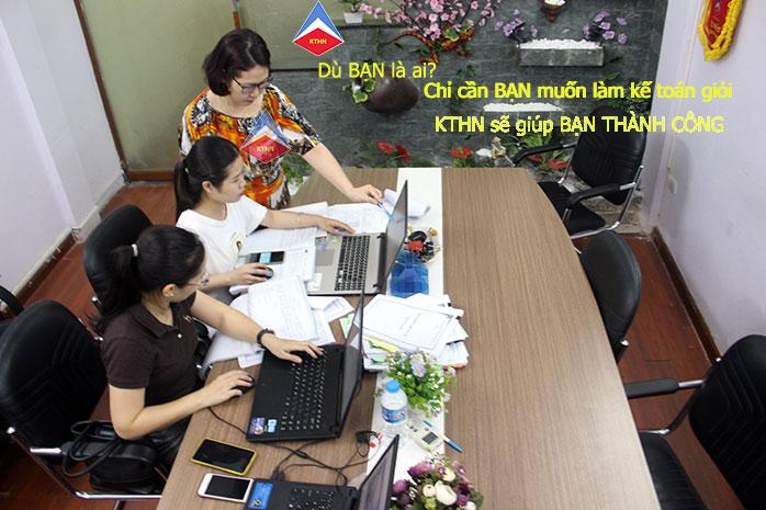Lớp học kế toán tổng hợp tại Kim Chân Bắc Ninh